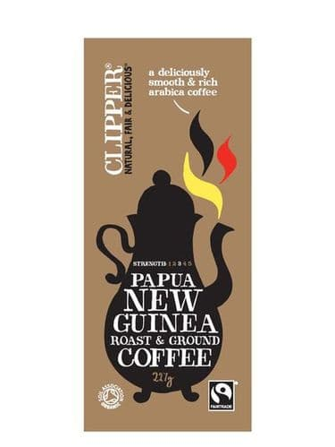 Clipper Organic Papua New Guinea Ground Coffee